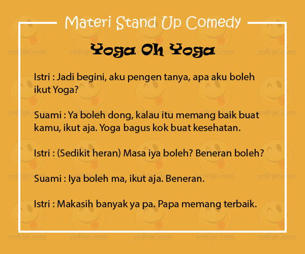 Materi Stand Up
