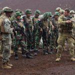 Pasukan Marinir Indonesia Latihan