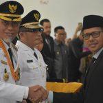 Gubernur Irwan Prayitno dan Walikota Padang