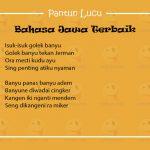 Pantun Lucu Bahasa Jawa