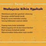Pantun Lucu Malaysia