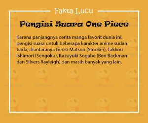 Fakta Lucu One Piece
