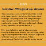 Humor Singkat Gokil