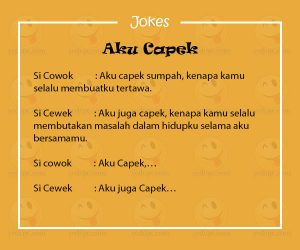 Jokes Lucu Chat