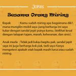 Jokes Lucu Singkat