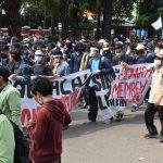 Demo Omnibus Law Jakarta