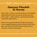 Materi Stand Up Comedy Kemal Palevi