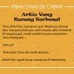 Materi Stand Up Comedy Pandji Pragiwaksono