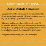 Materi Stand Up Comedy Tentang Guru Galak