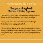 Materi Stand Up Comedy Tentang Pelajar