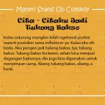 Materi Stand Up Comedy Uus