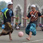 Santri Main Bola